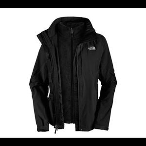 The North Face Black 3-in-1 Tri-Climate Coat